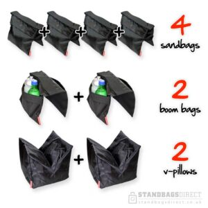Drama kit-photography saddlebag sandbags-tv-film-production